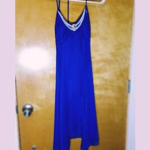 Royal blue homco or formal dress